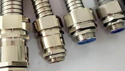 金属电缆防水接头需正确的安装和使用