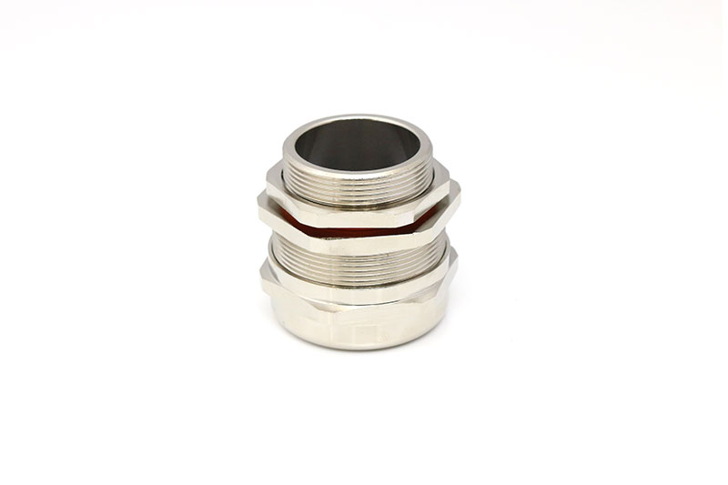 黄铜镀镍防爆索头金属填料函电缆密封防水接头连接器