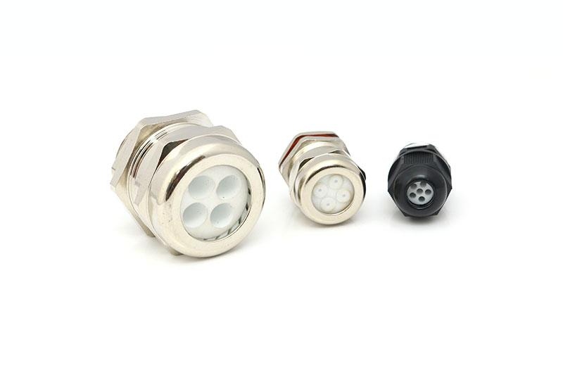 多孔线缆多芯耐高温防爆金属电缆防水接头厂家直销