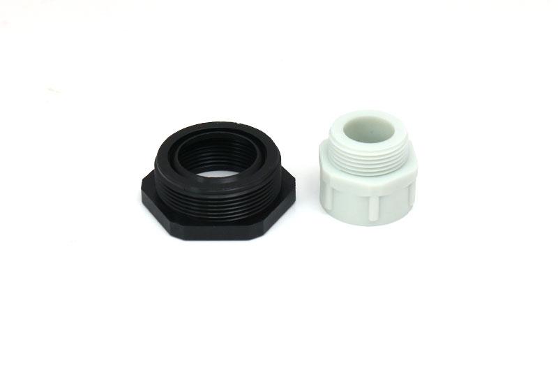 M25转M20螺纹尼龙防水减缩环转换变径转接塑料电缆接头