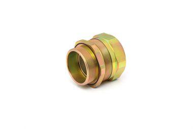镀彩锌镀镍金属防水防爆格兰头厂家直销可按图纸定制