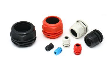 供应各种规格尺寸塑料电缆固定头防爆格兰头防水接头