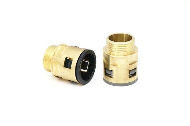 厂家供应各种规格尺寸金属电缆防水接头快速拔插软管式索头